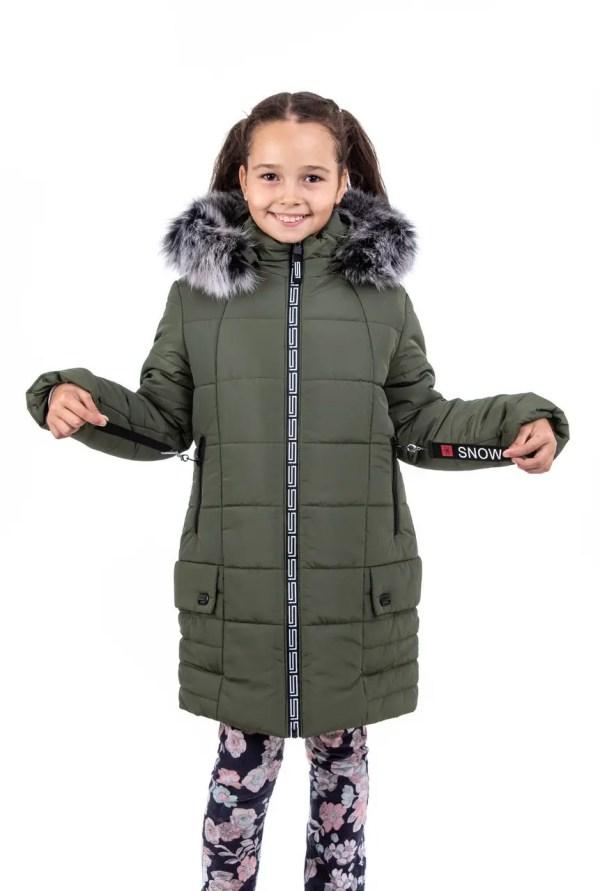 Куртки зимние для девочек от производителя 34-42 хаки ...