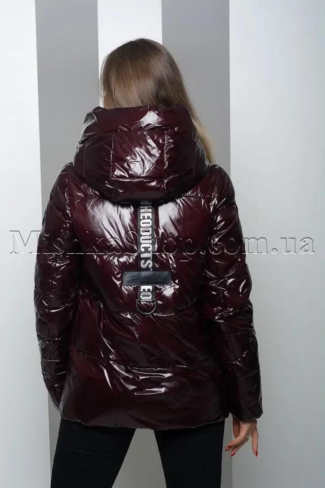 Купить Тёплая куртка из лаковой ткани Peercat 19-130 цвета ...