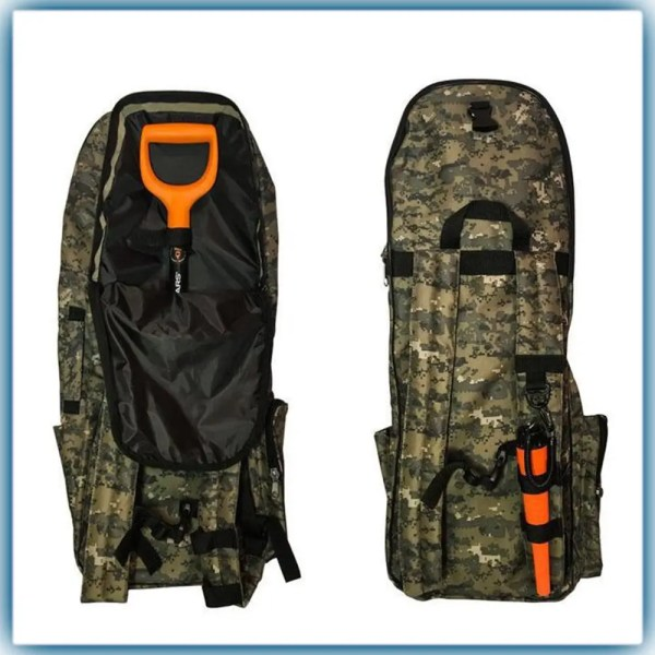 Рюкзак для металлоискателя, лопаты (пиксель): продажа ...
