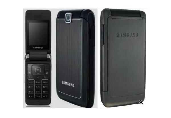 Мобильный телефон Samsung s3600 Black раскладушка 880 мАч ...