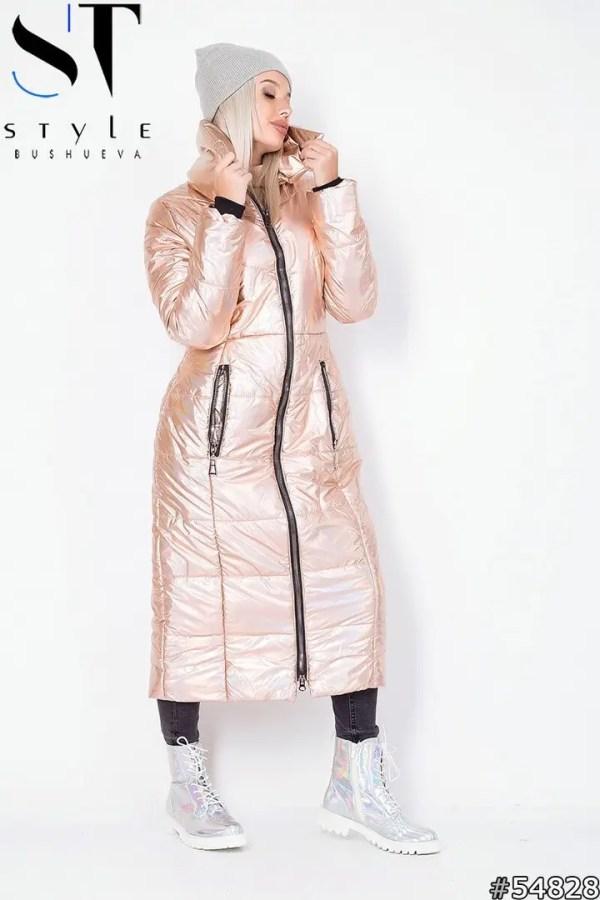 Зимнее длинное пальто-куртка женское - купить лучшая цена ...