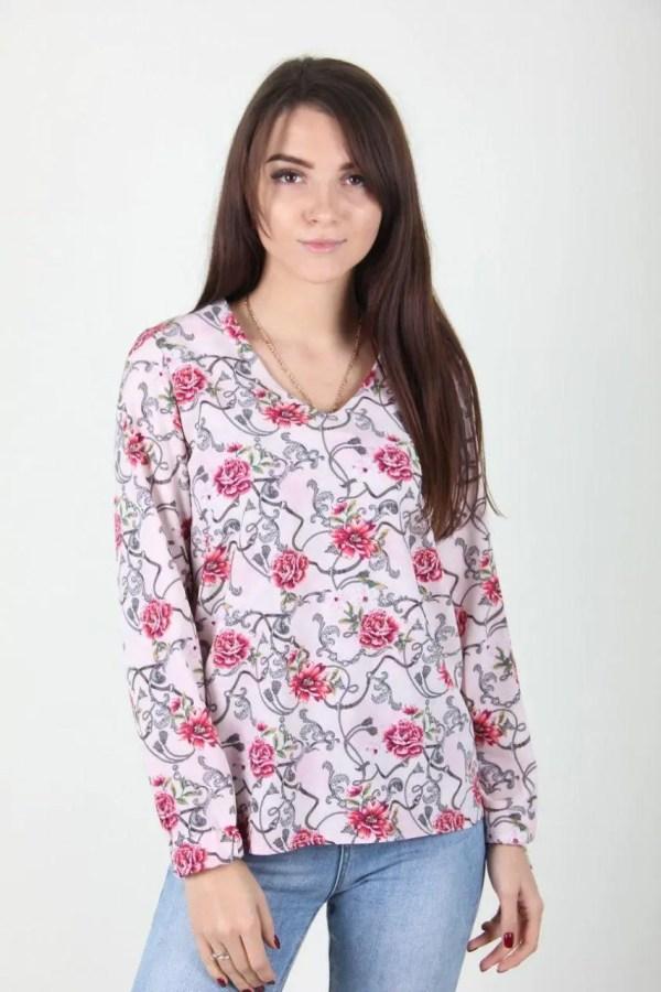 Модная блуза с цветами: продажа, цена в Хмельницком ...