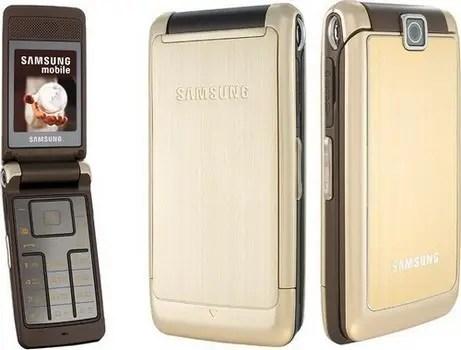 Мобильный телефон Samsung s3600 Gold раскладушка 880 мАч ...