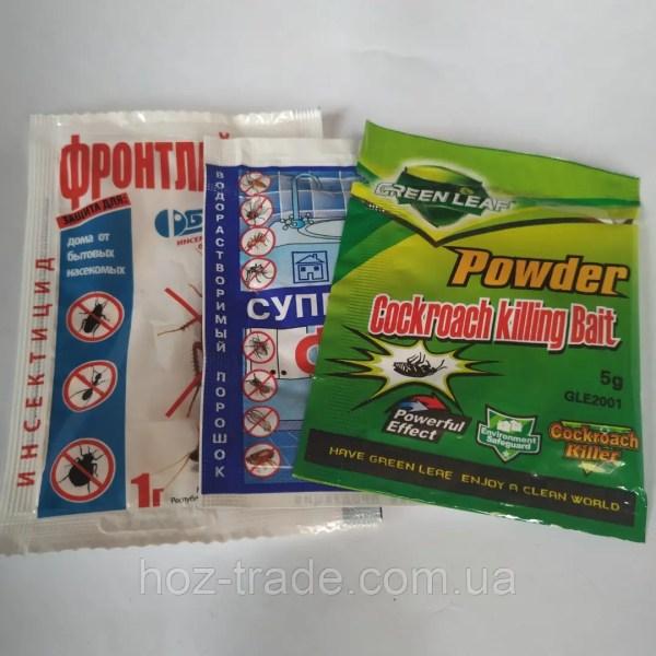 Эффективное средство от тараканов Супер-Фас+Фронтлайн М ...