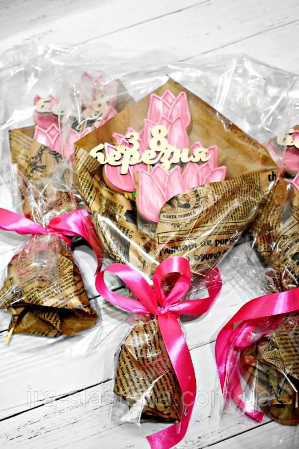 Лучший подарок к 8 марта - Букет с медовыми имбирными ...