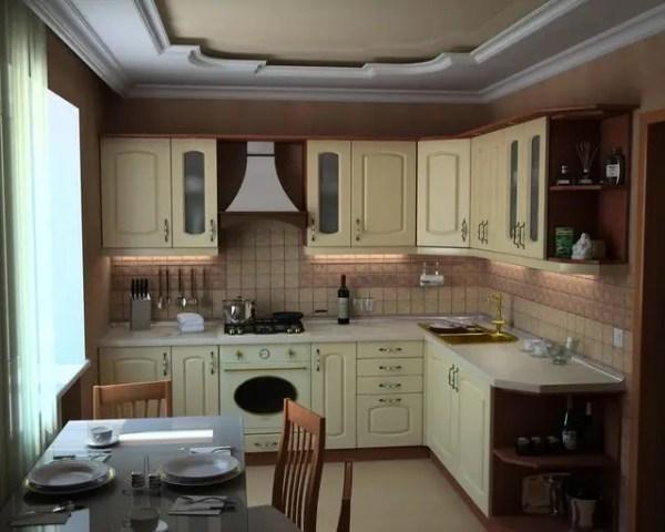 Кухонные гарнитуры с фасадами из пленочного МДФ: продажа ...