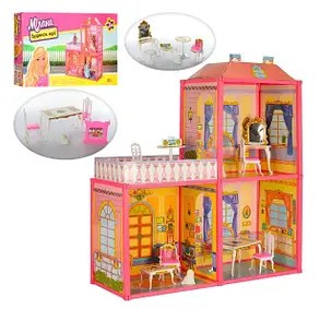 Кукольный дом для Барби 6984. Двухэтажный 3 комнаты с ...