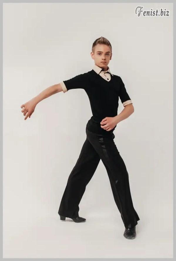 Брюки мужские для танцев (с широким лампасом) : продажа ...