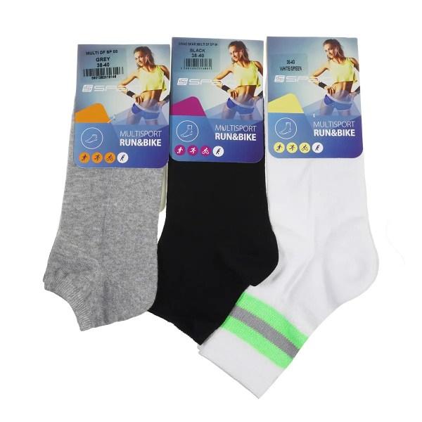 Набор женских носков 3 шт, размер 38-40 универсальный ...