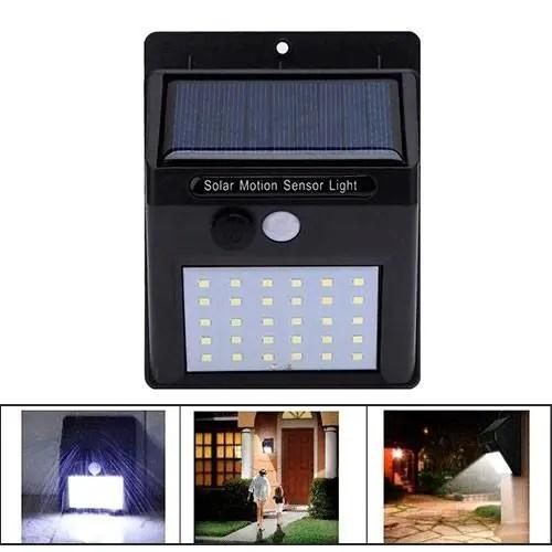 Уличный LED фонарь светильник на солнечной батарее ...