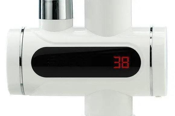 Кран водонагреватель DELIMANO с таблом электронным ...
