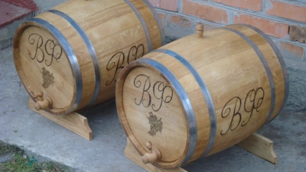 Бочка дубовая для коньяка, вина и других спиртных напитков ...