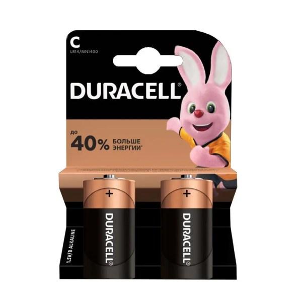 Батарейки Duracell C (LR14) Alkaline (2шт.): продажа, цена ...