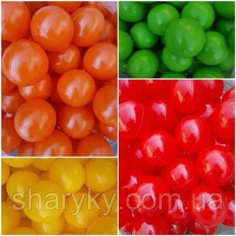 Шарики (мячики) цветные для сухого бассейна: продажа, цена ...