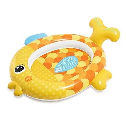 Бассейн Intex 57111 Золотая рыбка 140-24-34 см для детей 1 ...