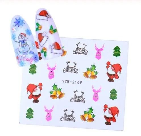 Новогодние наклейки на ногти: продажа, цена в Киеве ...