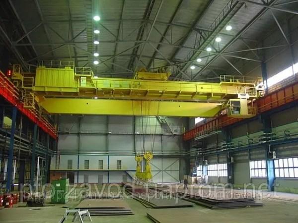 Кран мостовой электрический двухбалочный г/п 16 т ...