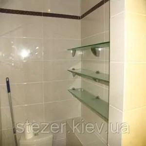 Стеклянные полки для ванной комнаты продажа цена в Киеве