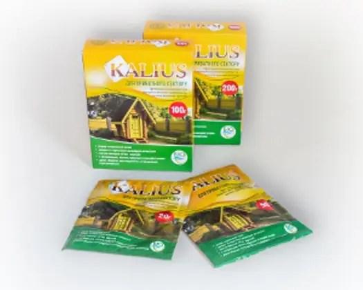 Биопрепарат для выгребных ям KALIUS, 200 г: продажа, цена ...