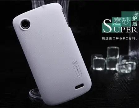 Чехол Nillkin для Lenovo A800 белый (+пленка) | Case24.com.ua
