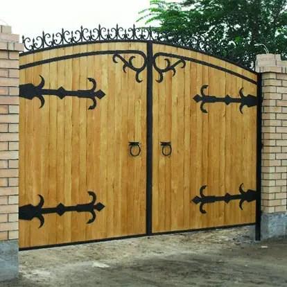 Деревянные ворота. Ворота из дерева от SDS Group.