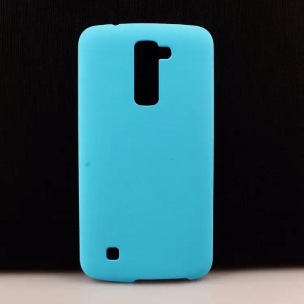 Пластиковый чехол для LG K7 X210 голубой Case24comua
