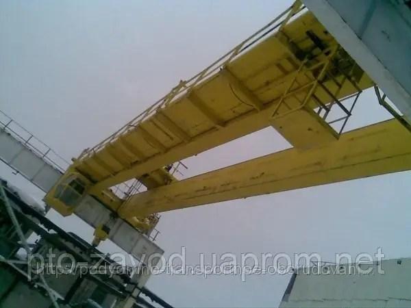 Кран мостовой электрический двухбалочный г/п 50/10 т ...