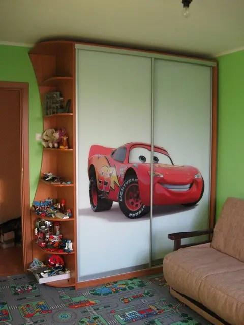 Шкаф-купе с фотопечатью для детской комнаты: продажа, цена ...