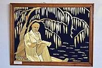 Картина із соломки «Т.Г. Шевченко»