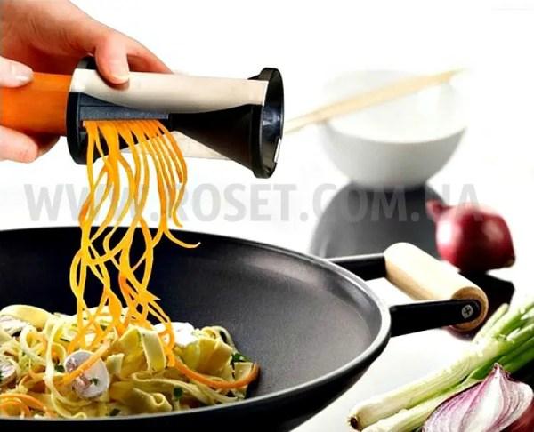 Нож-терка спиральной нарезки для морковки по-корейски ...