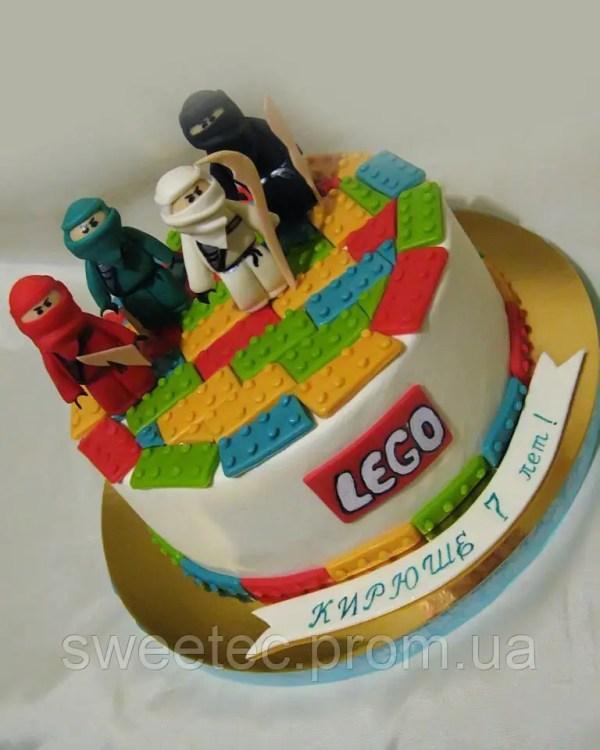 Торт детский Lego для мальчика на заказ Харьков, цена 300 ...