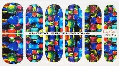 Водные наклейки на ногти №87 - купить в Одессе, новинка ...