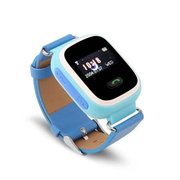 Smart baby watch Q60 детские умные часы с gps трекером