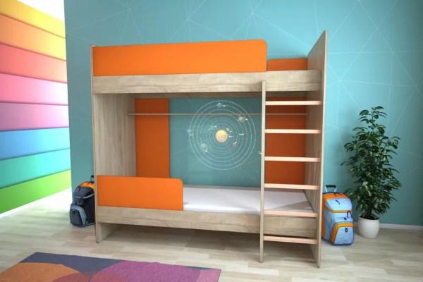 Кровать двухъярусная, Детская мебель, Детская кровать ...