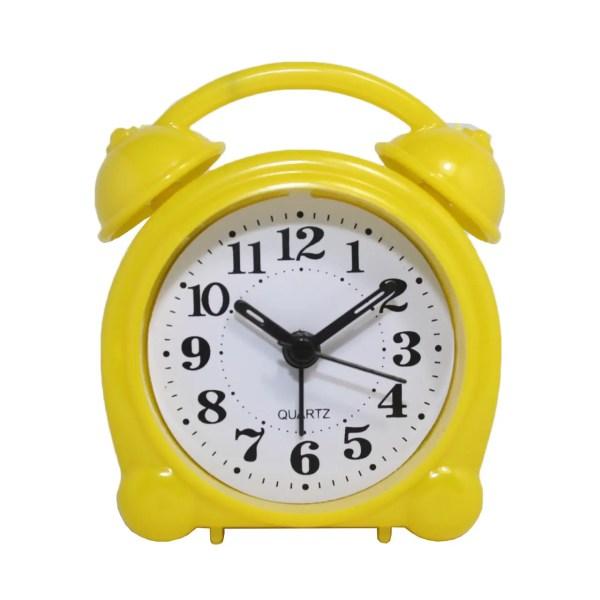Будильник №8836 часы настольные с подсветкой (желтый ...