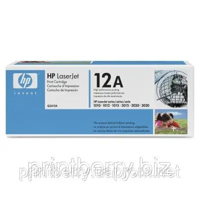 Восстановление лазерного картриджа HP Q2612A (12A) в ...