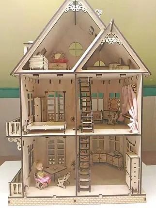 Мебель для кукольного домика Ванная комната продажа