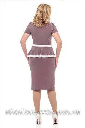 """Женское платье больших размеров купить """"Анита"""" - цена 305 ..."""