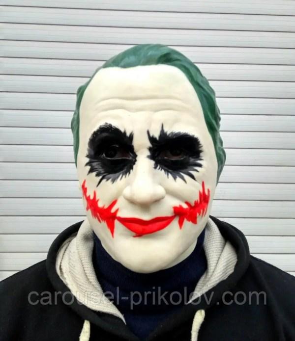 Маска Джокер на Хэллоуин - купить по лучшей цене от ...