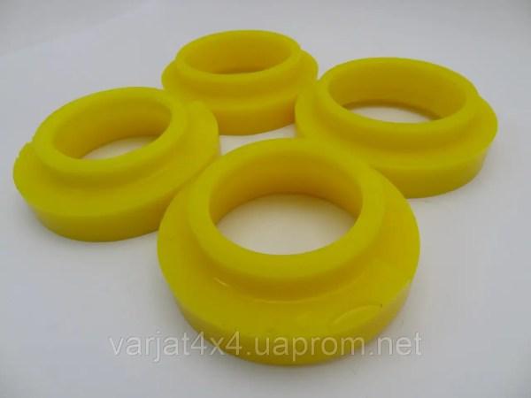 Комплект поліуретанових проставок під пружини (перед/зад ...