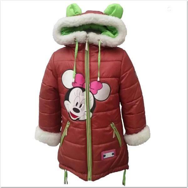 Куртка зима Мики Маус для девочки: продажа, цена в ...