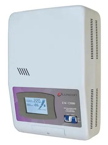 Luxeon EW-12000 -стабилизатор на дом, дачу, квартиру ...