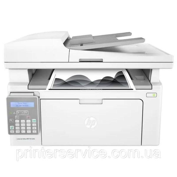Купить Черно-белое МФУ HP LaserJet Ultra M134fn (G3Q67A) 3 ...