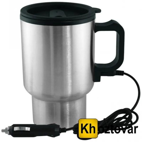 Термокружка с подогревом Heated Travel Mug (Stainless ...