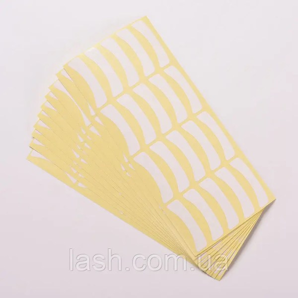 Виниловые подложки (патчи) для изоляции нижних ресниц при ...