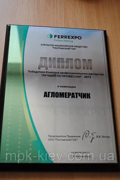 Купить Диплом Феррэкспо в Киеве