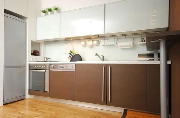 Кухни из закаленного стекла в Киеве, кухонная мебель из ...