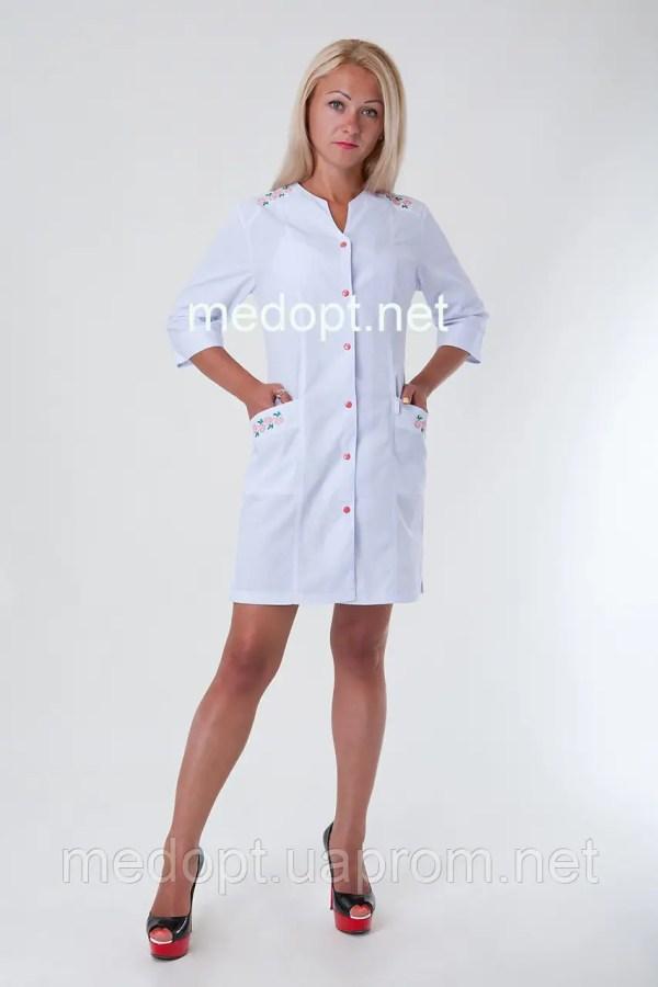Халат женский медсестры (батист) 2143: продажа, цена в ...