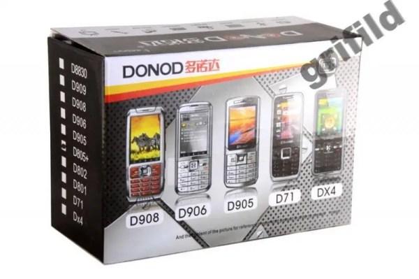 Donod D805 TV 2SIM сенсорный телефон с телевизором ...