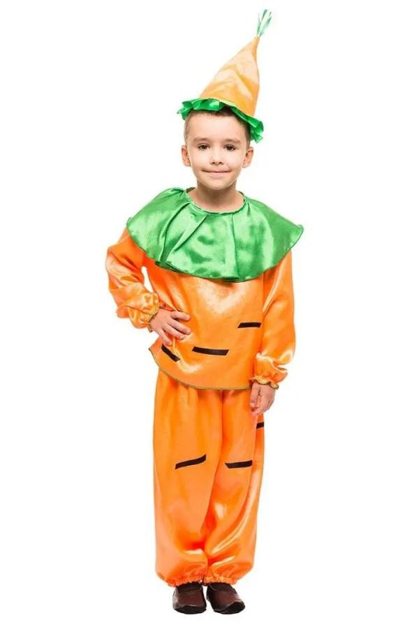 Карнавальный новогодний костюм для мальчика Морковка ...